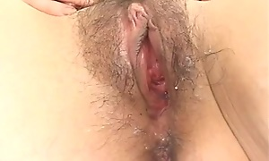 Amateur Japanese lady sucks disconcert hard cock in POV