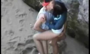 untrained sex on slay rub elbows with beach teens young