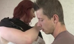 Awesome Upper case Breast Milf fucked by young Man