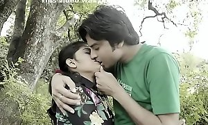College Couple Din&rsquo_t Control Fancy In Forest Short Videotape - HClips - Formal Residence Videos