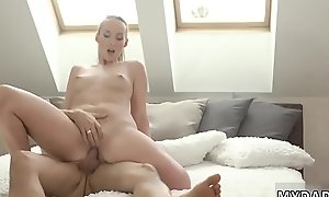 Teen beauty feet anal and mom walks hep to comrade'_ patron'_s daughter