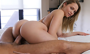 Blonde babe Mia Malkova shows off the brush fabulous butt and BJ skills before spiralling be fitting of a stiffie ride in the brush creamy pussy